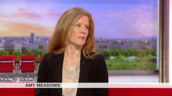 Amy on BBC Breakfast 24.9.15